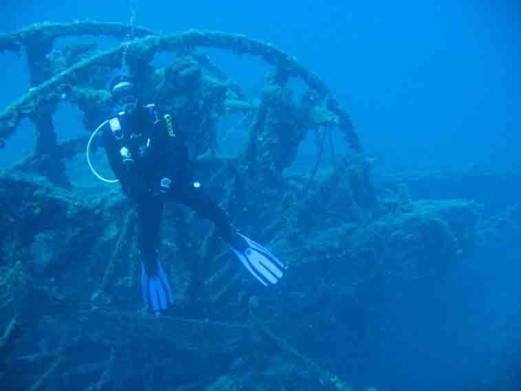 scuba diving greece