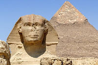 Pyramids, the Great Sphinx