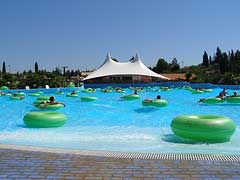 Wave Pool in Aqualand, Corfu