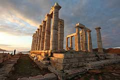 Cape Sounion, the Temple of Poseidon