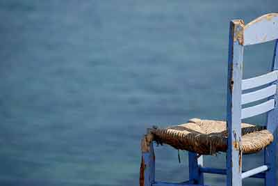 Chair by Mykonos Sea