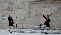 Changing of Guards - The Unknown Soldier in Athens