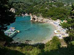 Corfu, Paleokastritsa Bay