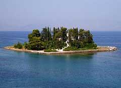Corfu, Pontikonisi