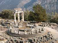 Delphi - Temple of Athena
