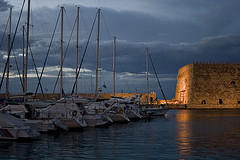 Heraklion harbour, Crete