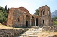 Mystras, Sparta