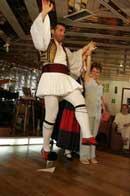 Greek Dancing on board