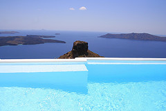 Santorini Swimming Pool