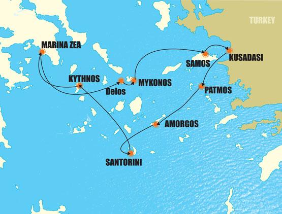 Greece Amp Turkey 8 Days Small Ship Cruise Greek Island